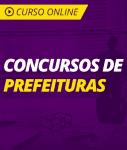 Curso Online Concursos de Prefeituras 2019