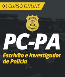 Curso Online PC-PA 2019 - Escrivão e Investigador de Polícia