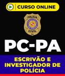 Curso PC-PA - Escrivão e Investigador de Polícia
