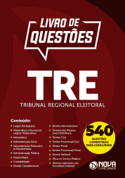 Livro de Questões TRE - Tribunal Regional Eleitoral 2019