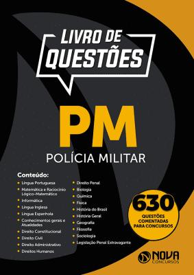 Livro de Questões PM - Polícia Militar 2019