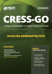 Apostila CRESS-GO 2019 - Auxiliar Administrativo