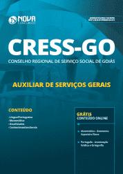Apostila CRESS-GO 2019 - Auxiliar de Serviços Gerais