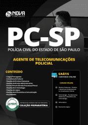 Apostila Download PC-SP 2019 - Agente de Telecomunicações Policial