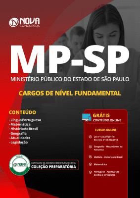 Apostila MP-SP 2019 - Cargos de Nível Fundamental