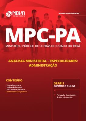 Apostila MPC-PA 2019 - Analista Ministerial - Especialidades: Administração