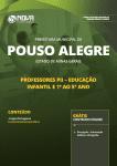 Apostila Download Prefeitura de Pouso Alegre - MG 2019 - Professores PII - Educação Infantil e 1º ao 5º ano