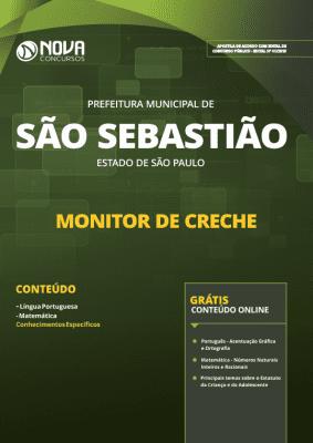 Apostila Prefeitura de São Sebastião - SP 2019 - Monitor de Creche