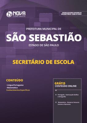 Apostila Prefeitura de São Sebastião - SP 2019 - Secretário de Escola