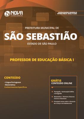 Apostila Prefeitura de São Sebastião - SP 2019 - Professor de Educação Básica I