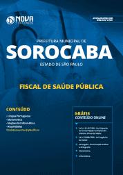 Apostila Prefeitura de Sorocaba - SP 2019 - Fiscal de Saúde Pública