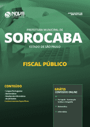 Apostila Download Prefeitura de Sorocaba - SP 2019 - Fiscal Público