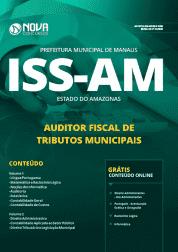 Apostila Prefeitura de Manaus - AM (ISS Manaus) 2019 - Auditor Fiscal de Tributos Municipais