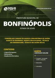 Apostila Prefeitura de Bonfinópolis - GO 2019 - Comum aos Cargos de Nível Médio