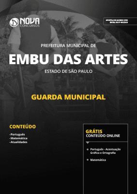 Apostila Prefeitura de Embu das Artes - SP 2019 - Guarda Municipal
