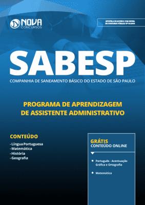 Apostila SABESP 2019 - Programa de Aprendizagem de Assistente Administrativo