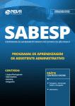 Apostila Download SABESP 2019 - Programa de Aprendizagem de Assistente Administrativo
