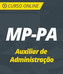 Curso Online MP-PA 2019 - Auxiliar de Administração