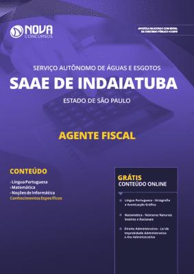 Apostila SAAE de Indaiatuba - SP 2019 - Agente Fiscal