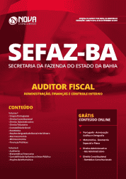Apostila SEFAZ-BA 2019 - Auditor Fiscal - Administração, Finanças e Controle Interno