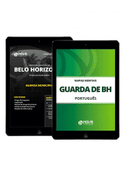 Combo Digital Guarda Municipal de Belo Horizonte 2019 (Apostila Digital + Mapas Mentais)