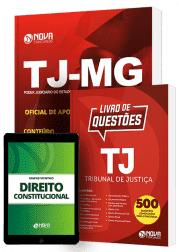 Combo TJ-MG 2019 - Oficial de Apoio Judicial