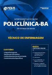 Apostila POLICLÍNICA-BA 2019 - Técnico em Enfermagem