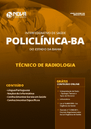 Apostila POLICLÍNICA-BA 2019 - Técnico em Radiologia