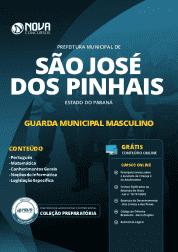 Apostila Prefeitura de São José dos Pinhais - PR 2019 - Guarda Municipal Masculino