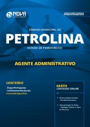 Download Apostila Câmara de Petrolina - PE 2019 - Agente Administrativo
