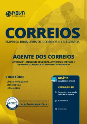 Apostila CORREIOS 2019 - Agente dos Correios (Atendente Comercial, Carteiro e Operador de Triagem e Transbordo)