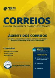 Download Apostila CORREIOS 2019 - Agente dos Correios (Atendente Comercial, Carteiro e Operador de Triagem e Transbordo)