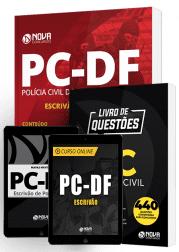 Combo PC-DF 2019 - Escrivão de Polícia