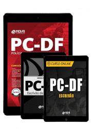 Combo Digital PC-DF 2019 - Escrivão de Polícia (Apostila Digital + Curso + Mapas Mentais)