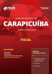 Apostila Prefeitura de Carapicuíba - SP 2019 - Fiscal