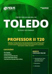 Apostila Prefeitura de Toledo - PR 2019 - Professor II T20