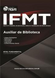 Download Apostila IFMT Pdf - Auxiliar de Biblioteca