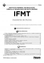 Download Apostila IFMT Pdf - Assistente de Alunos