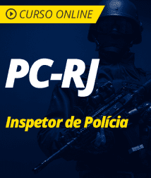 Pacote PC-RJ - Inspetor de Polícia