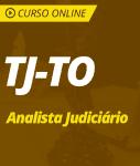 Curso TJ-TO  - Analista Judiciário
