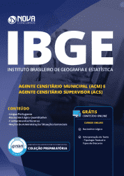 Download Apostila IBGE 2019 - Agente Censitário Municipal (ACM) e Agente Censitário Supervisor (ACS)