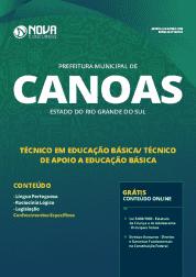 Download Apostila Prefeitura de Canoas - RS 2019 - Técnico em Educação Básica/Técnico de Apoio a Educação Básica