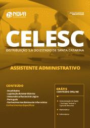 Download Apostila CELESC DISTRIBUIÇÃO S.A 2019 - Assistente Administrativo