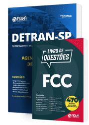 Combo DETRAN-SP 2019 - Agente Estadual de Trânsito (Apostila + Livro de Questões)