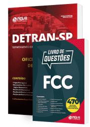 Combo DETRAN-SP 2019 - Oficial Estadual de Trânsito (Apostila + Livro de Questões)