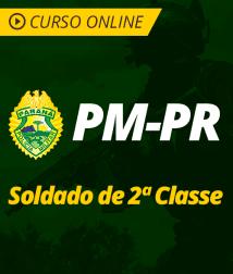 Pacote Completo PM-PR - Soldado de 2ª Classe