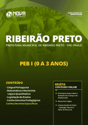 Apostila Prefeitura de Ribeirão Preto - SP 2019 - PEB I (0 a 3 anos)