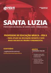 Download Apostila Prefeitura de Santa Luzia - MG 2019 - PEB II - Educação Infantil e Anos Iniciais do Ensino Fundamental