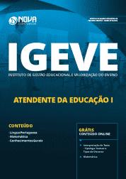 Apostila IGEVE-SP - 2019 - Atendente da Educação I