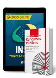 Combo Curso INSS Técnico + Livro Como Furar a Fila em Concursos Públicos